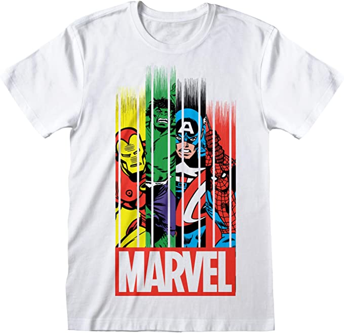 Marvel Comics The Avengers Group Oficial Camiseta Niños 2-3 años: Amazon.es: Ropa y accesorios