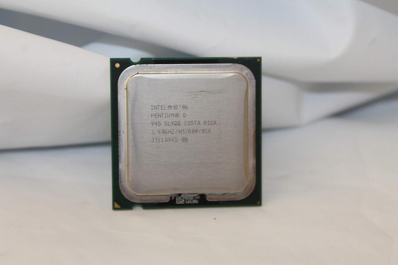 800MHz SL9QQ Socket 775 CPU Processor 4M Cache ITSL for Intel Pentium D 945 3.4GHz