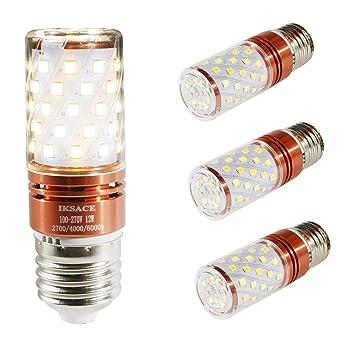 IKSACE Bombilla LED Tricolor bombilla de cambio de bombilla LED para bombilla, blanco frío /