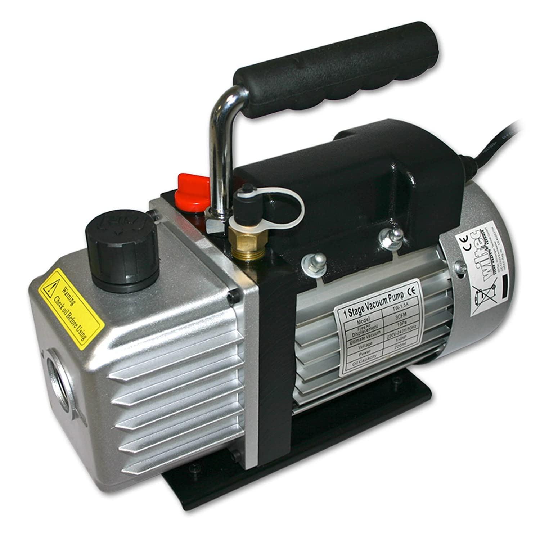 Pompe à dépression - Pompe à vide 30l - 1cfm / 10Pa 52902
