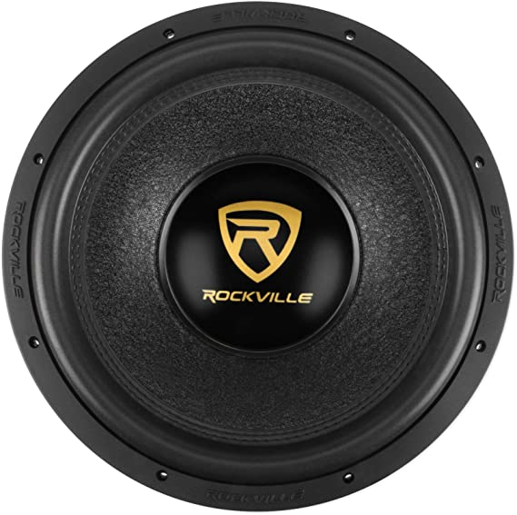 """15/"""" DVC 2500w Subwoofer Bass Speakers.Woofer.Car Audio Sub.Dual Voice. NEW 2"""