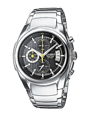 66efad65512 Casio Reloj de Cuarzo EF-512D-1AVEF  Amazon.es  Relojes