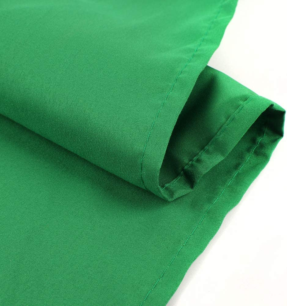 Background Only Green 6 x 9FT//1.8 x 2.8M Opaque Photo Studio Backdrop Polyester Fabric Background for Photography
