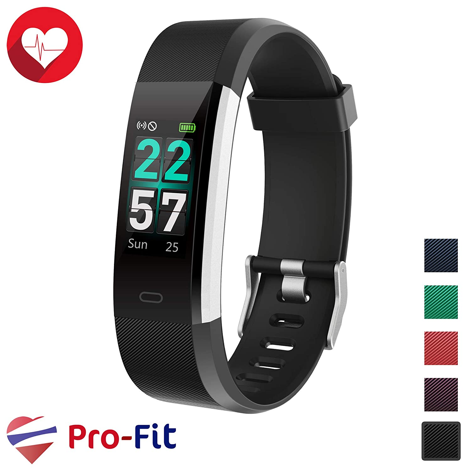 Pro-Fit Smart VeryFitPro Fitness Tracker IP68 Waterproof Activity Tracker  Heart Rate Sleep Monitor (ID115 pro)