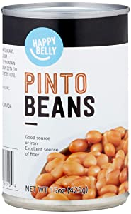 Amazon Brand - Happy Belly Pinto Beans, 15 Ounce