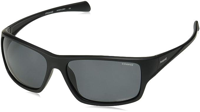 Polaroid PLD 7016/S M9 807 61, Gafas de Sol para Hombre, Negro