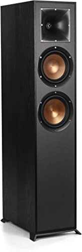Klipsch R-620F Floorstanding Speaker with Tractrix Horn Technology Live Concert-Going Experience in Your Living Room