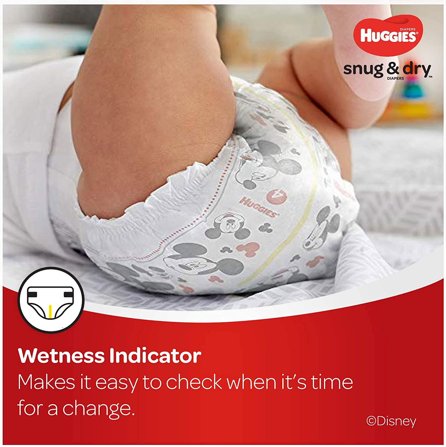 Size 4 66 Count HUGGIES Snug /& Dry Diapers Packaging May Vary