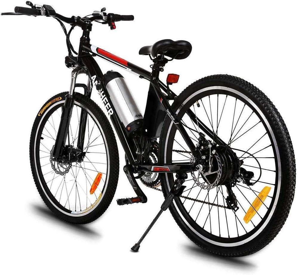 YOUSR Potente Bicicleta Eléctrica Bicicleta De Montaña 26 Pulgadas ...