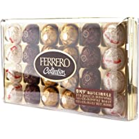 Rocher费列罗臻品巧克力糖果礼盒24粒装259.2g (意大利/波兰/德国进口)