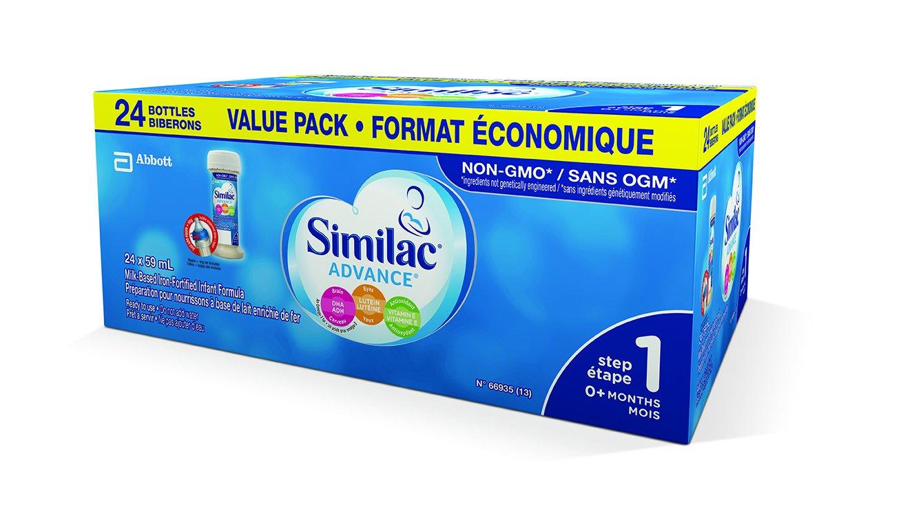 Similac Similac advance step 1 value pack 24 count Manufacturer
