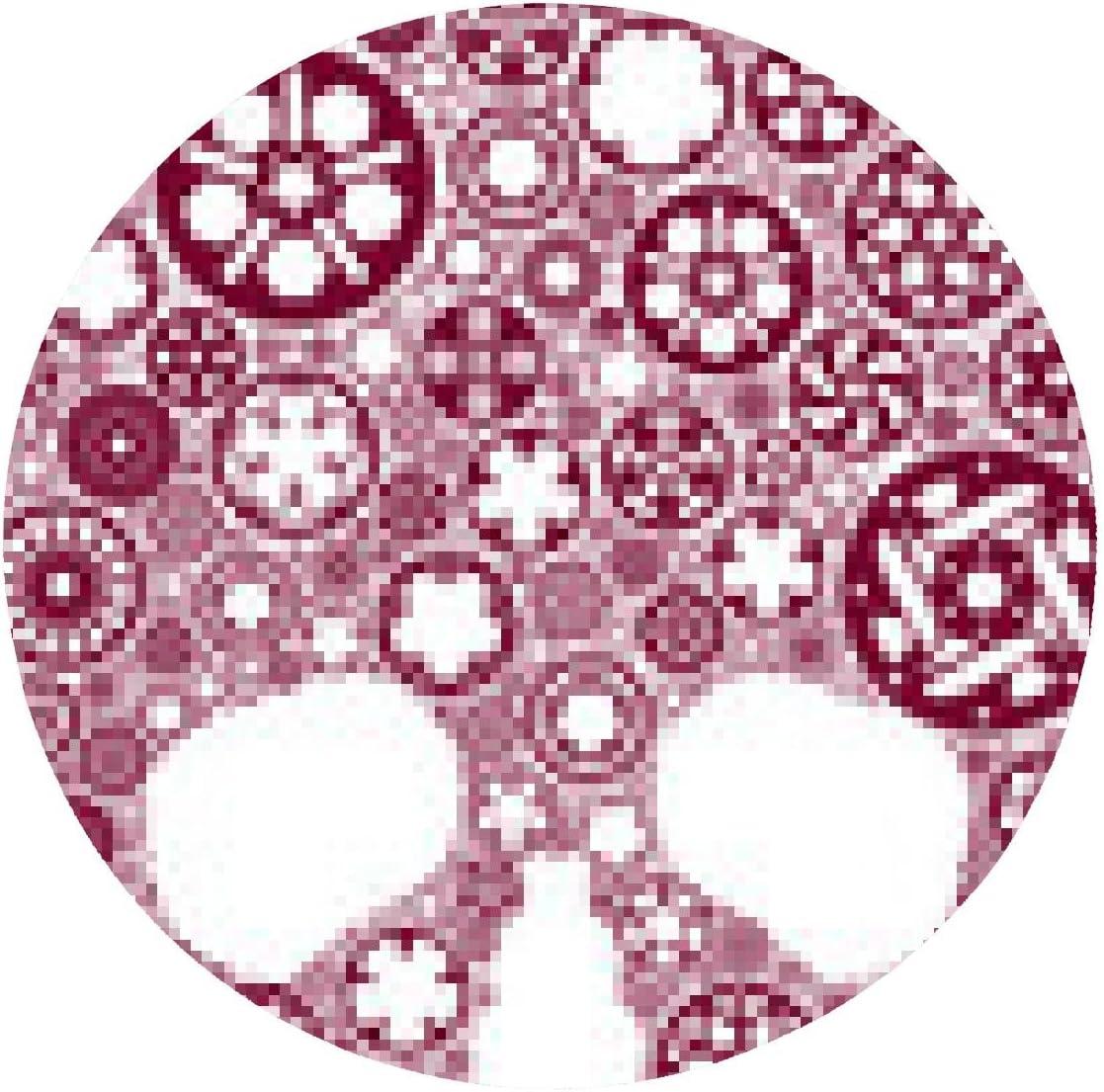 alfombrilla de ratón Cráneo del vector creado a partir de platos ...