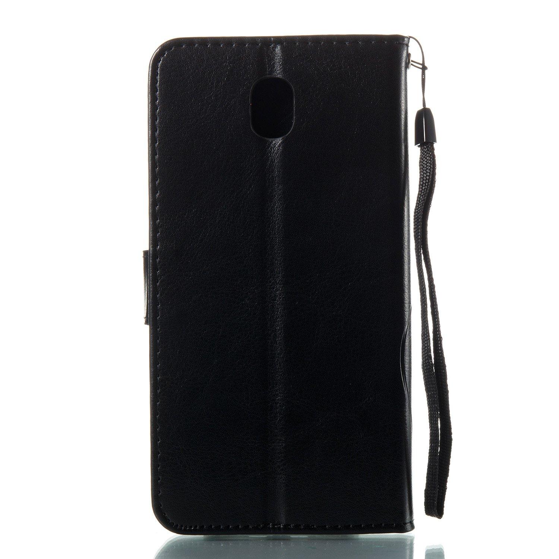 Unisnug Etui Smartphone Samsung Galaxy J7 2017 Portefeuille Etui Folio Flip  Cover pour Galaxie J7 2017 Coques Portable Samsung J7 2017 SM-J730F Housse  ... 524e8c61745