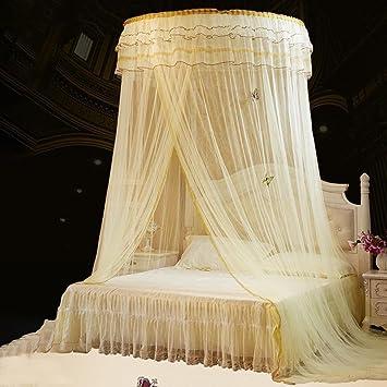 AOKDOOR Bett Moskitonetz Lace Bett Net Moskito Solid Dome ...