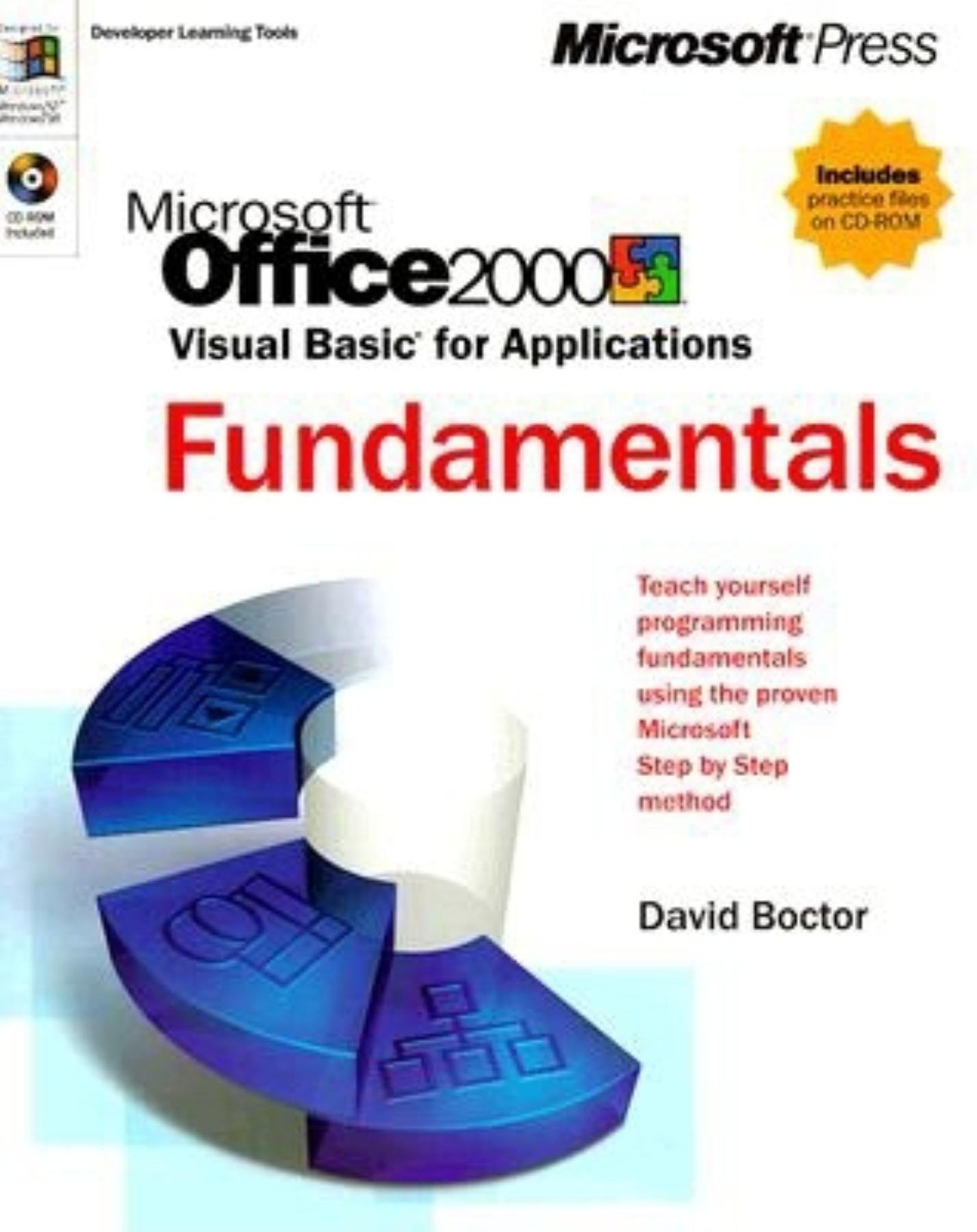 Microsoft Office 2000 Visual Basic for Applications Fundamentals (Developer Learning Tools)