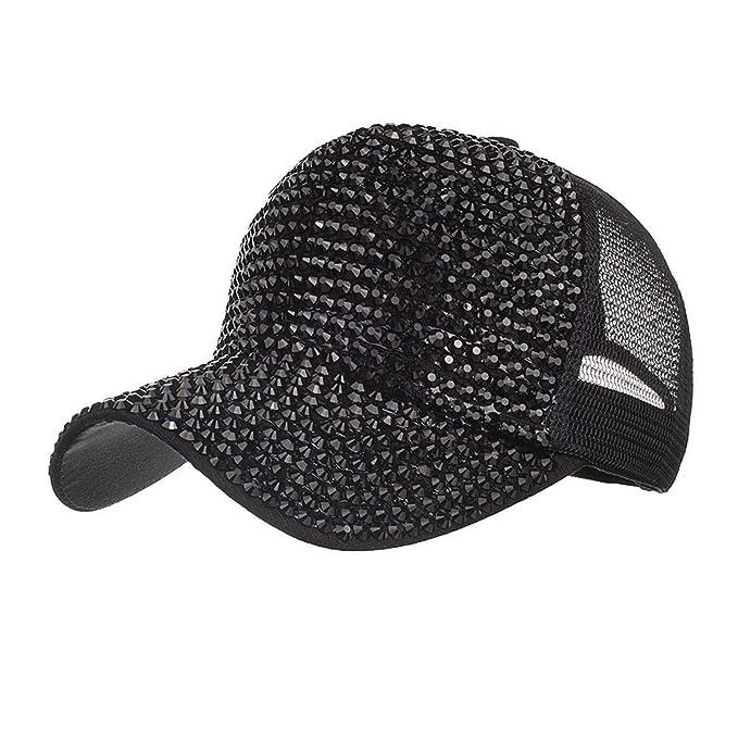 Constructs Moda para Mujeres 54~62Cm Sombreros De Diamantes De ...