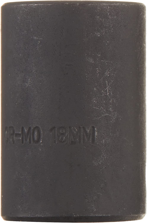 Sunex 218zm 1//2-Inch Drive 18-mm 12-Point Impact Socket