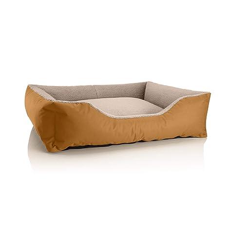 BedDog Perro/Gato Cama Teddy S à XXXL, 14 Colores a Elegir, de
