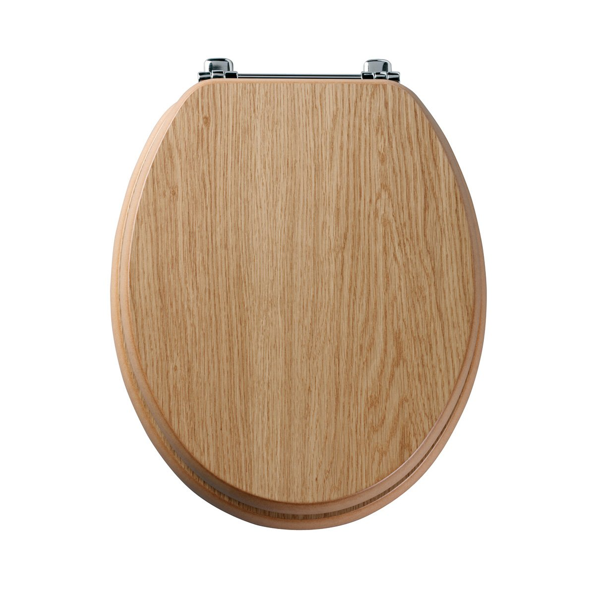 "18/"" MDF NATURAL COLOUR PINE WOOD TOILET SEAT"