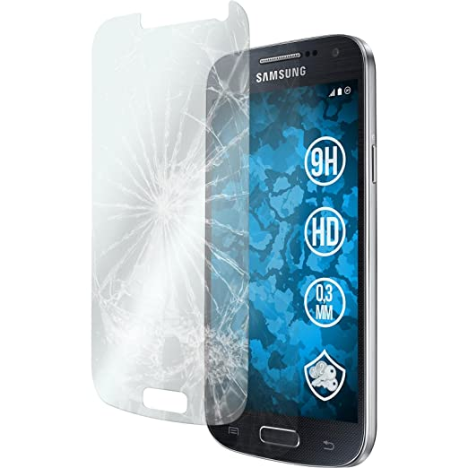 36 opinioni per 2 x Samsung Galaxy S4 Mini Pellicola Protettiva Vetro Temperato chiaro-