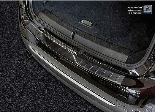 G05 Ribs Avisa 2//45191 Protector del Parachoques Trasero Inoxidable Negro Compatible con BMW X5 Paquete M 2018