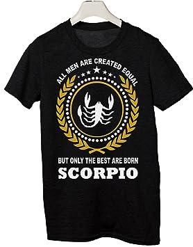 De Las Signos Del Zodiaco Camiseta Latino Tallas Escorpio Todas ynvwPm0ON8