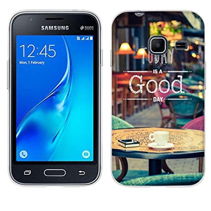 Amazon.com: Samsung Galaxy J1 MINI Case, fubaoda [resistente ...