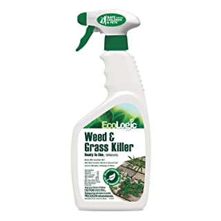 EcoLogic 24 oz Ready-To-Use Weed & Grass Killer (Pack of 8)