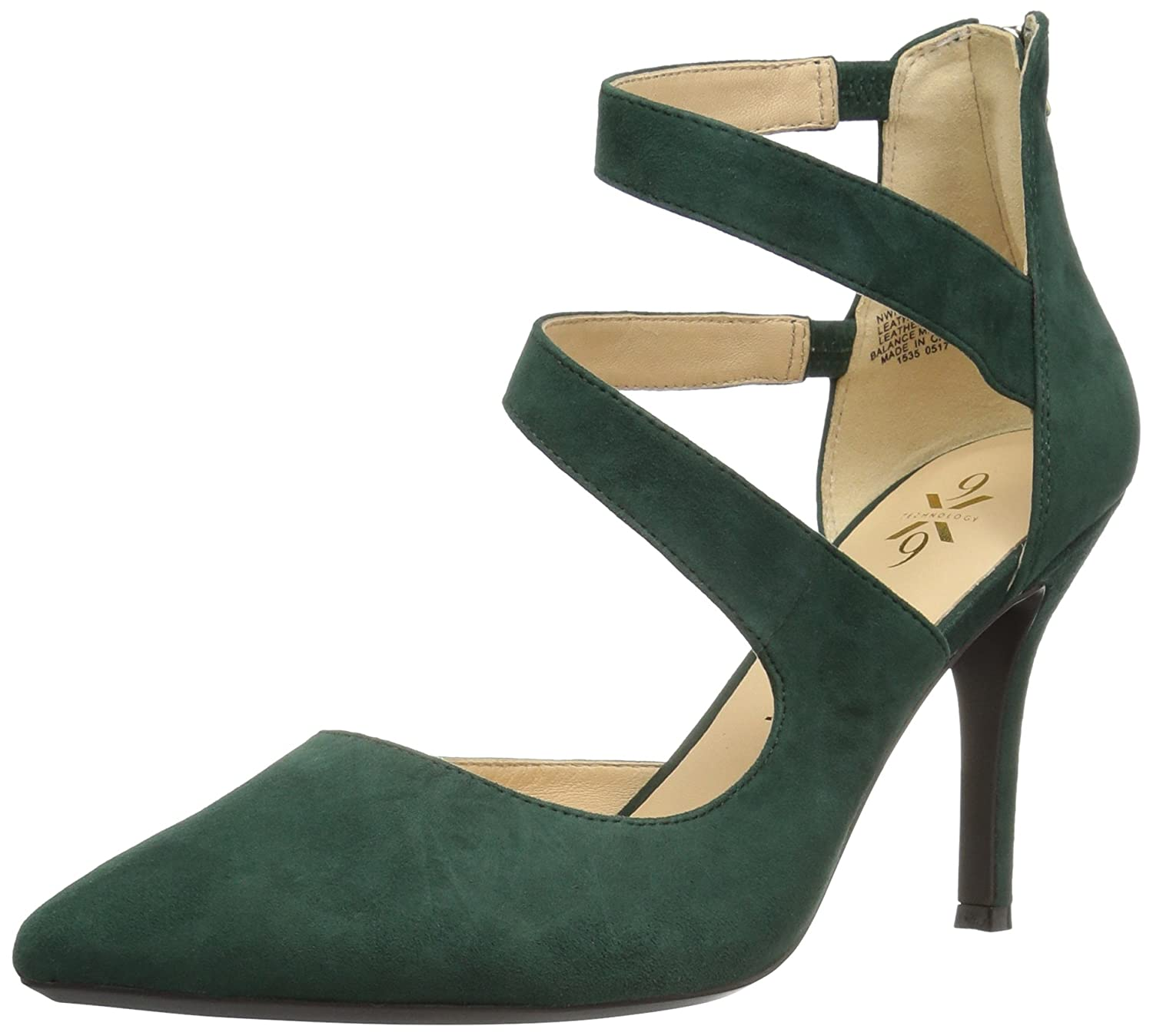 Nine West Women's Florent Suede B01N6T6R8Y 11 B(M) US|Dark Green
