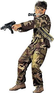 WIDMANN Iden Disfraz de soldado para niño: Amazon.es: Juguetes ...