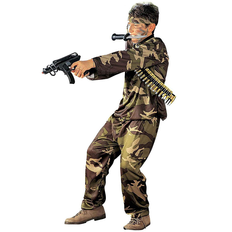 Disfraz de soldado para niño - 128