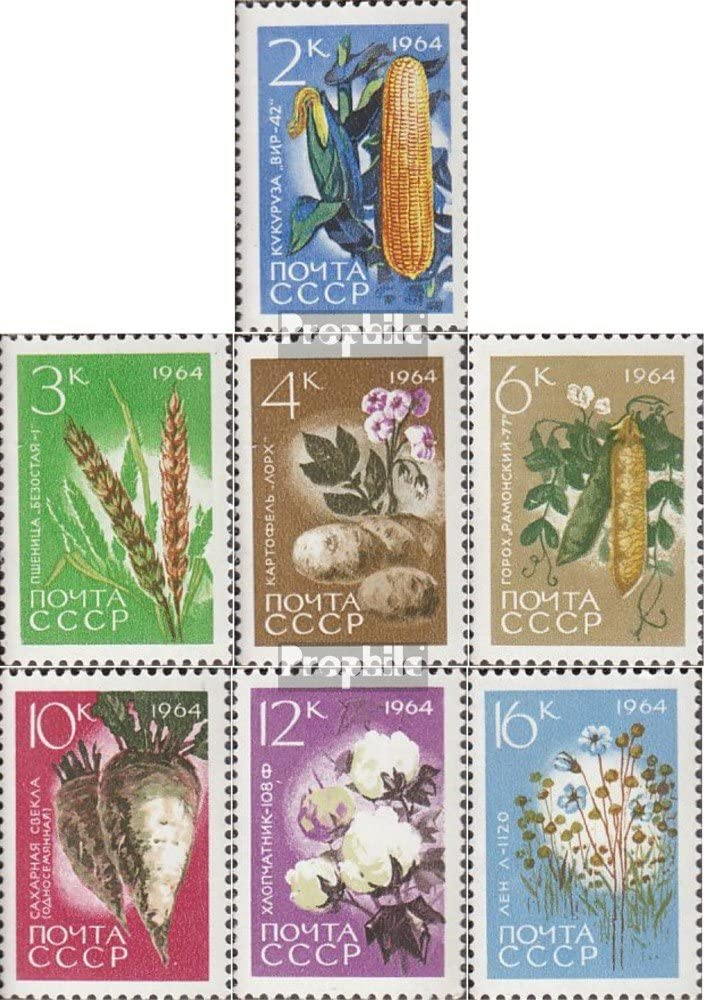 Francobolli per i Collezionisti Prophila Collection Unione Sovietica 1414-1417 ferrovia 1949 Ferroviarie Completa Edizione