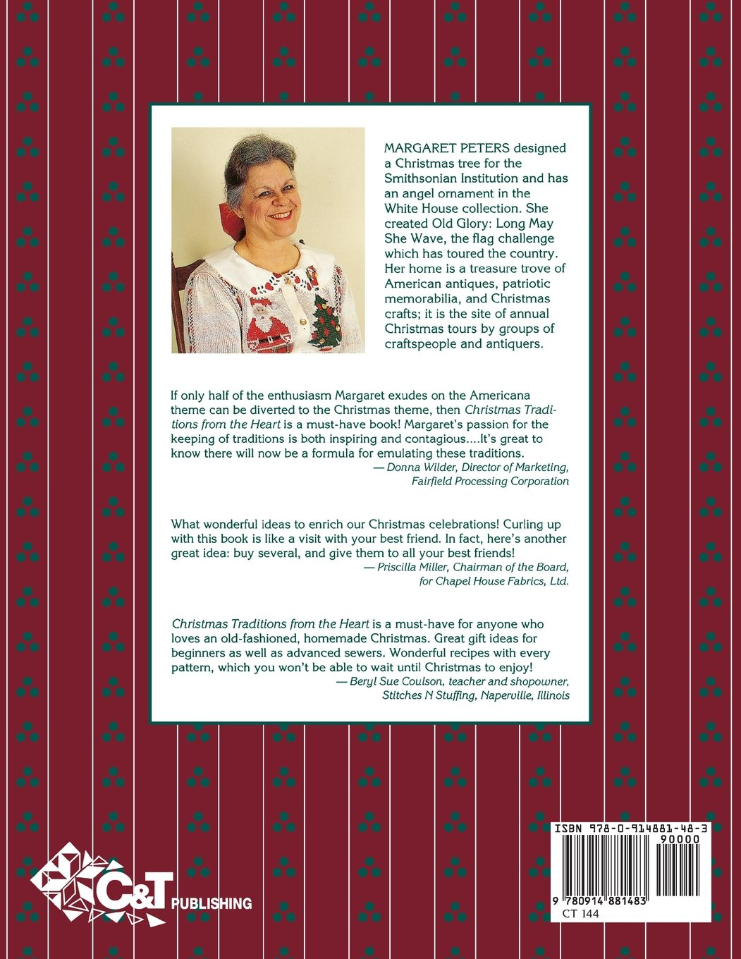 Christmas Traditions from the Heart, Vol. 1: Margaret Peters ...
