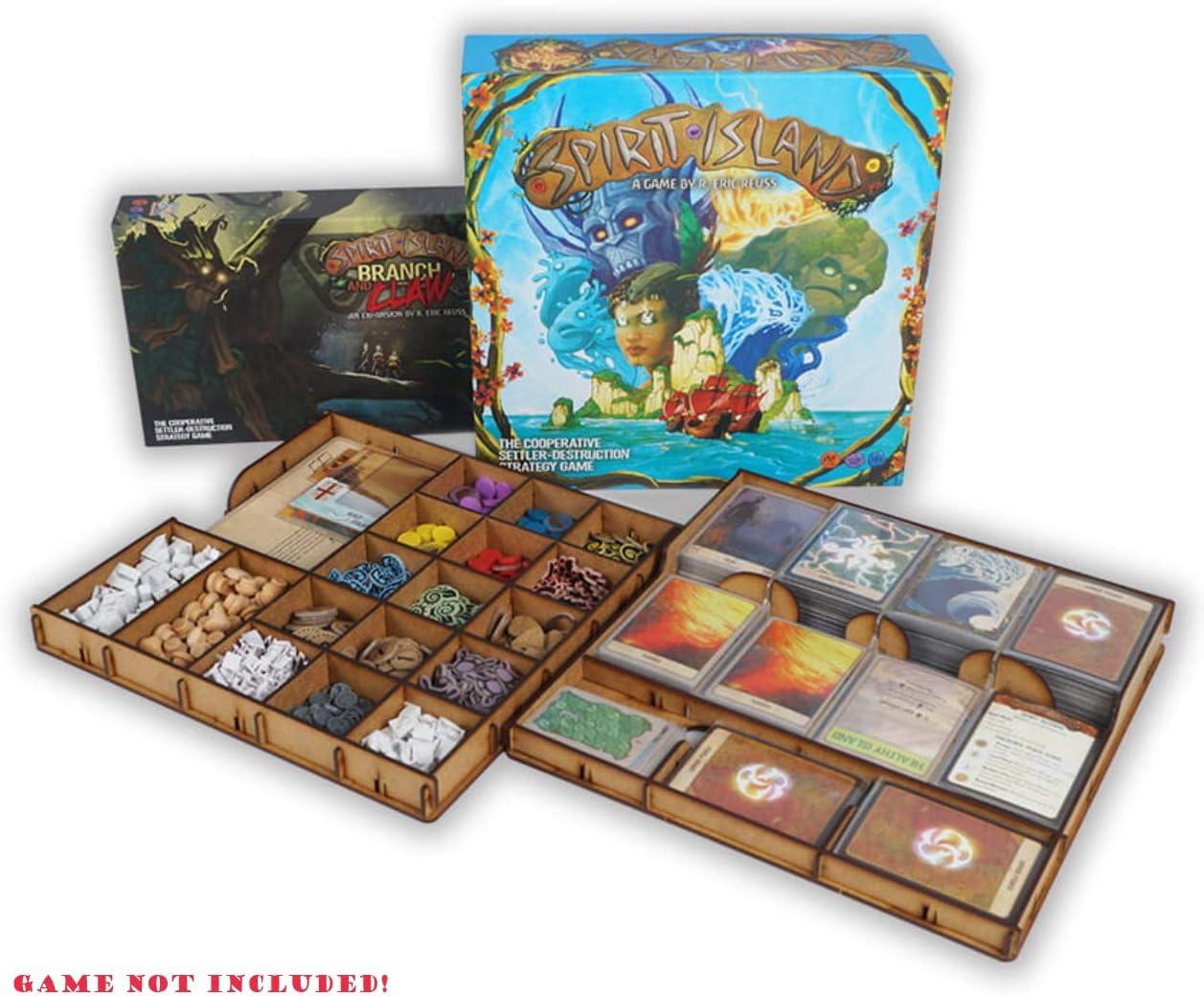 docsmagic.de Organizer Insert for Spirit Island Box - Encarte: Amazon.es: Juguetes y juegos