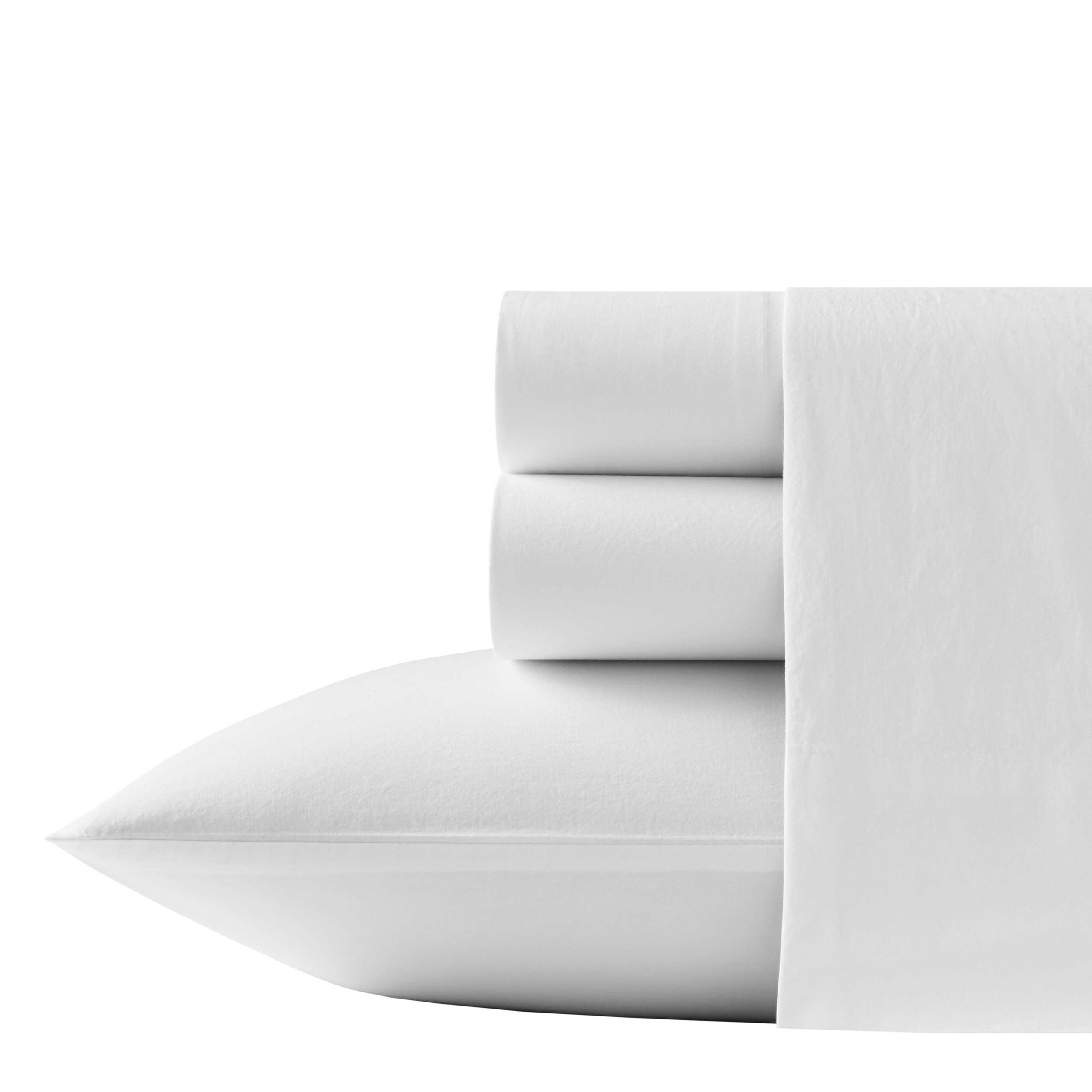 Tommy Bahama Relaxed State Sheet Set, White, King