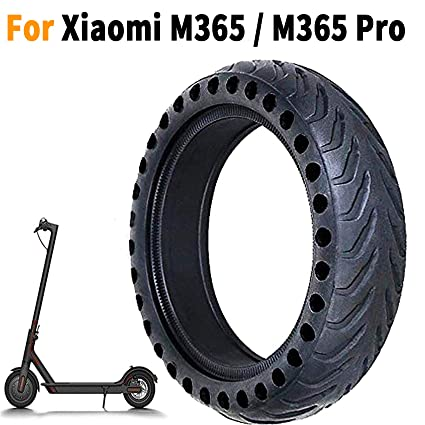 EMEBAY - Rueda de repuesto de 8,5 pulgadas de células sólido 8 1/2X2 Para delantero/trasero de neumáticos Xiaomi Mijia M365 scooter eléctrico ...