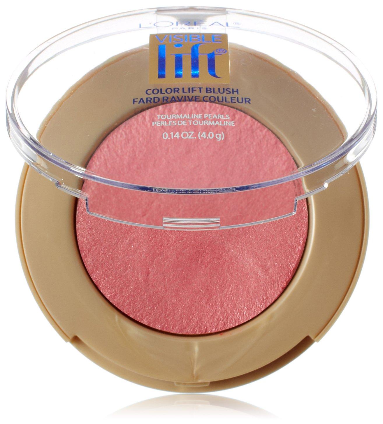 L'Oréal Paris Visible Lift Color Lift Blush, Pink Lift, 0.14 oz.