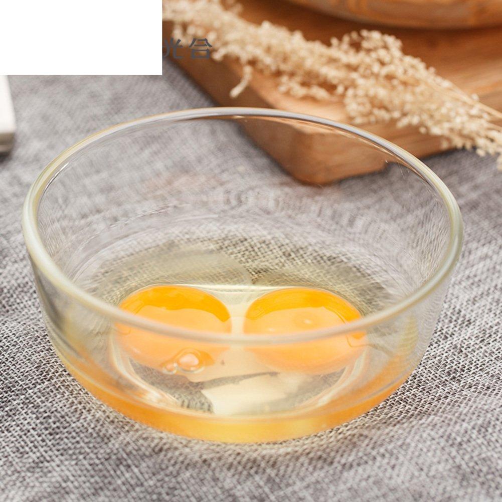 Pyrex insalatiera di vetro  piombo piatto di frutta  ciotola di insalata   forno a microonde ciotola trasparente-A  Amazon.it  Casa e cucina 8267b53c3d3f