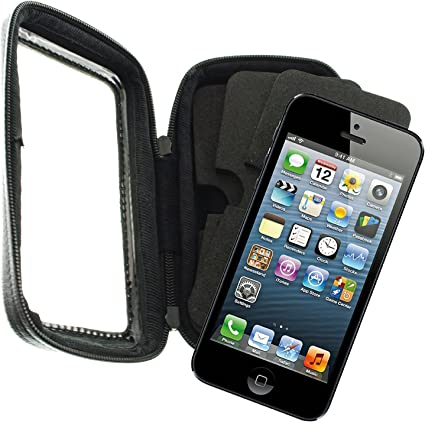 Funda para smartphone para bicicleta, impermeable, para iPhone 5 ...