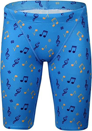 BELE ROY Boys Swim Jammers Quick Dry Youth Swimming Jammer Shorts UPF 50+