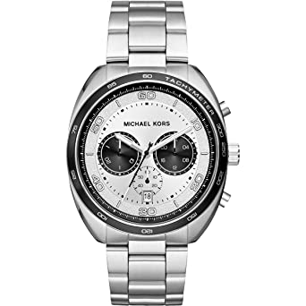 1d4eb0198a88a Michael Kors Herrenuhr Chronograph Dane MK8613  Amazon.de  Uhren