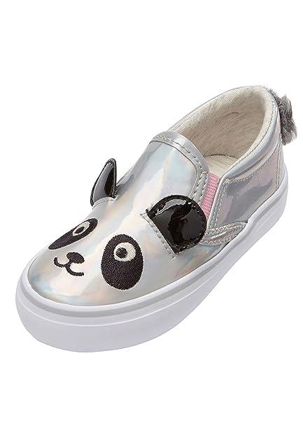 3ac6555dd733b Next Niñas Zapatillas Skate con Motivo De Panda (Niña Pequeña) Plateado EU  29 Plateado EU 29  Amazon.es  Zapatos y complementos