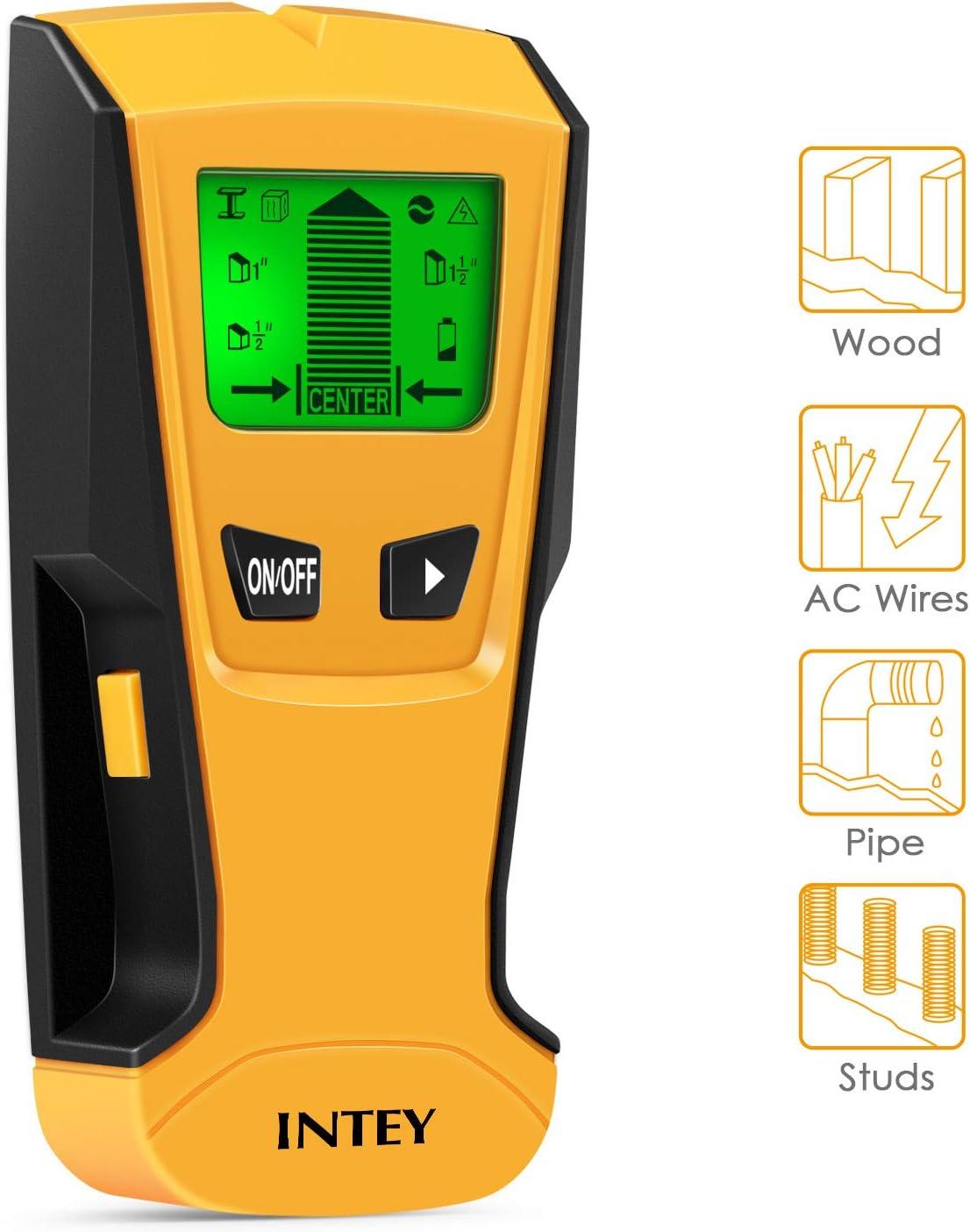 Wood Column Metal Wire Voltage Wall Detector Stud Center Finder Tool Supplies