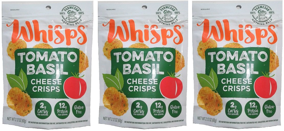 Whisps Parmesan Tomato Basil (2.12oz) 3 Pack by Cello