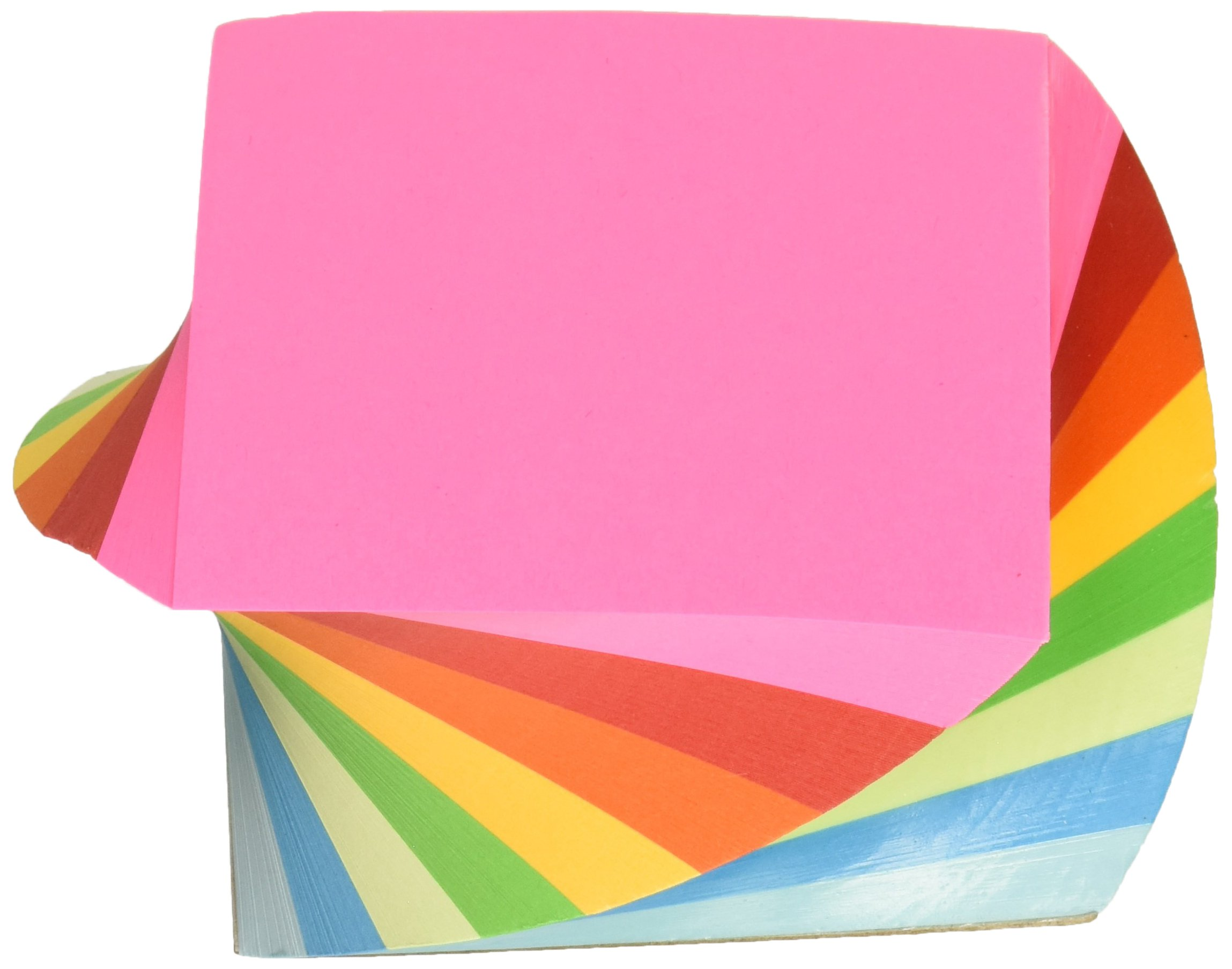TOPS Products Twirl Memo Pad, 3''x3'', Plain, 400 Sheets, Assorted (TOP99529) by TOPS Products (Image #1)