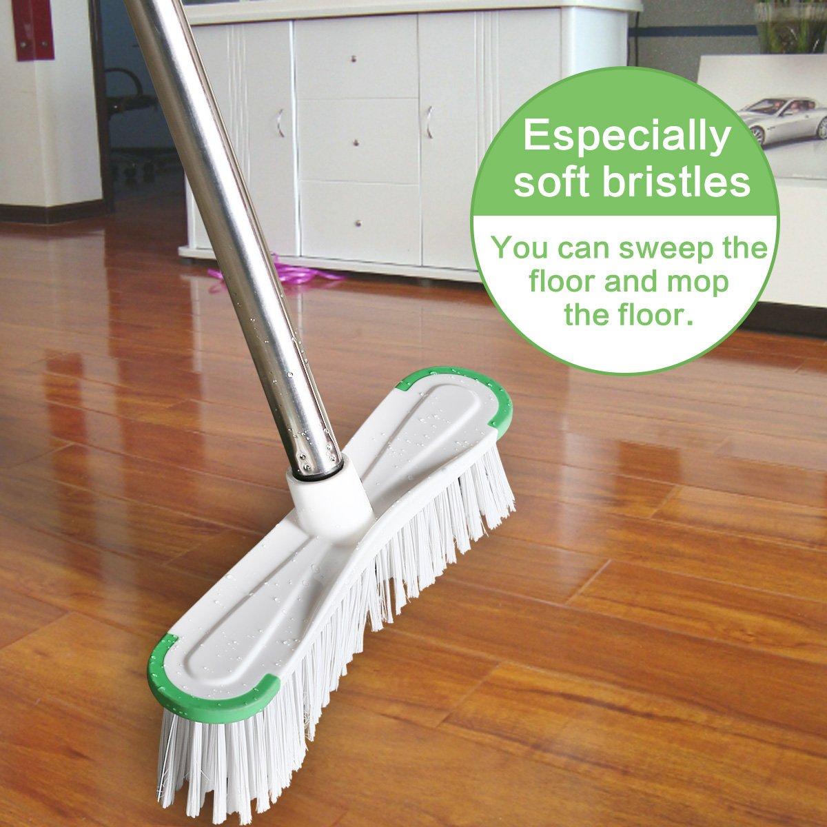Soft Bristle Brush For Hardwood Floors Carpet Vidalondon