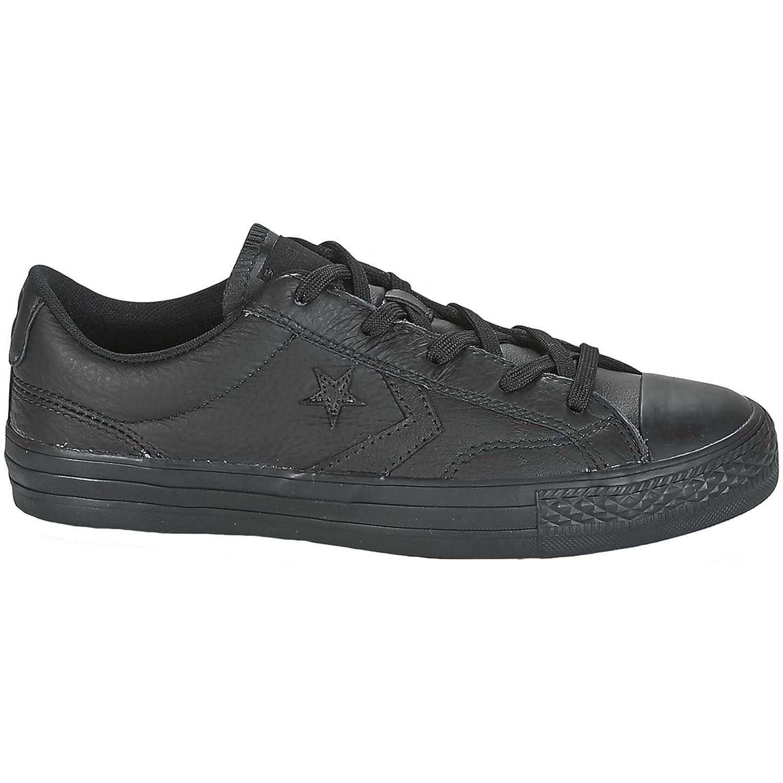 Noir (noir noir noir 001) Converse Star Player Ox, Chaussures de Fitness Mixte Enfant 35 EU