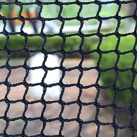 Escalera red de protección, Cuerda Balcón Red de Seguridad Deportes Meta Puerto Fútbol Baloncesto Net Negro Malla Tenis niños al aire libre for mascotas Protección de Plantas neto, Blanco, Negro Multi: Amazon.es: