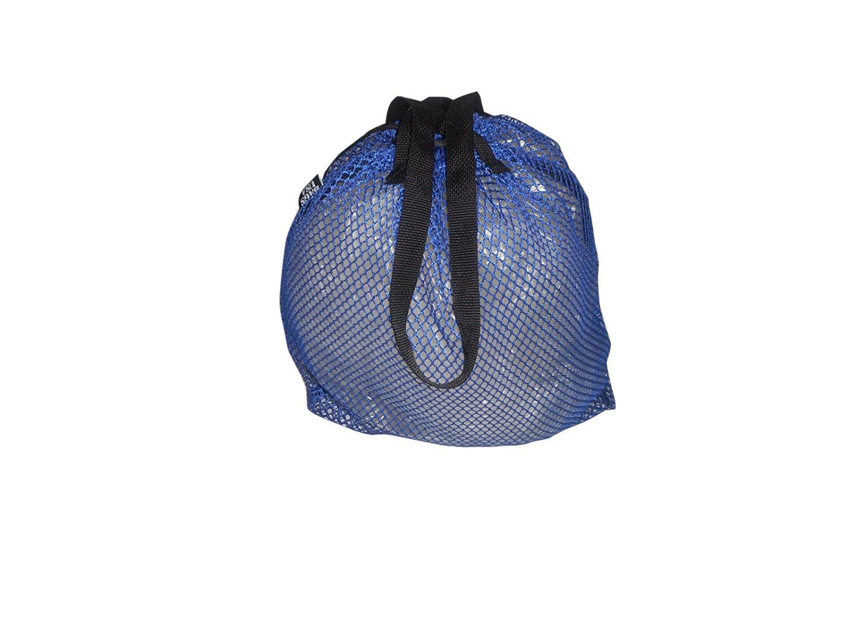 ランドリーバッグ、ビーチまたはSwimバッグ、米国ナイロンメッシュ非常に耐久性Drawstring。 B00ZK4IWGK ブルー