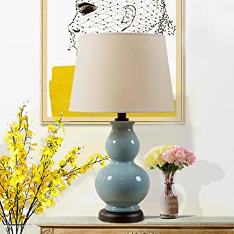 Wddwarmhome moderna moderna calabaza decorativa lámpara de ...